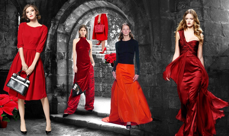 Τα ρούχα σε κόκκινο χρώμα ανεξάρτητα από το προσωπικό μας στιλ- είναι ακαταμάχητα! Είτε είναι ένα κομψό φόρεμα, είτε μία εντυπωσιακή τουαλέτα, ή ένας συνδυασμός μαύρου με μακριά κόκκινη φούστα ή κόκκινο βελούδινο τοπ και παντελόνι τα βλέμματα στρέφονται πάνω μας!