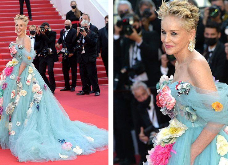 Κάννες 2021: Η Σάρον Στόουν εντυπωσιάζει με Dolce & Gabbana