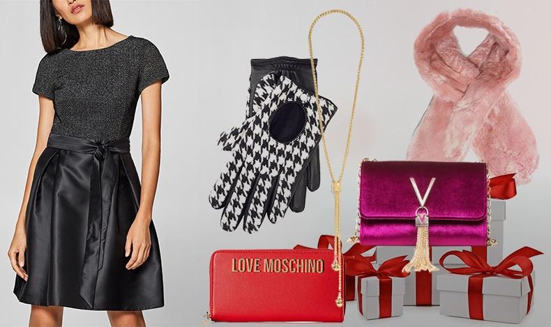 Ρούχα και αξεσουάρ για εμάς ή για δώρα; Τι θα λέγατε για ένα ωραίο τσαντάκι ή πορτοφόλι, ένα ζευγάρι κομψά γάντια ή έναν γούνινο γιακά που θα αναδείξει το παλτό μας; Στα καταστήματα Notos είναι μια αληθινή ευκαιρία που διαρκεί μέχρι τις 31 Δεκεμβρίου με το πρόγραμμα go4more, ενώ αν εξαργυρώσουμε πόντους κερδίζουμε 30% επιπλέον έκπτωση σε επιλεγμένες μάρκες με ένδειξη!