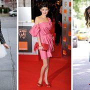 Tα κόκκινα παπούτσια ταιριάζουν ιδανικά με, μαύρο, λευκό αλλά και μπλε. ενώ ένας πιο τολμηρός συνδυασμός είναι με ροζ