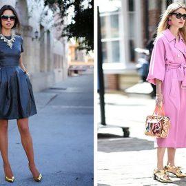 Τα παπούτσια με μεταλλικές αποχρώσεις ταιριάζουν πολύ καλά με μαύρο, λευκό ή ροζ