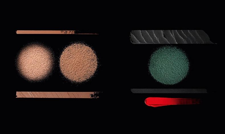 Τα προϊόντα βάσης χαρίζουν άμεση λάμψη και φρεσκάδα, σε ματ εκδοχή σαν... φυσικό άγγιγμα του ήλιου, οι σκιές ματιών με έντονη χρωματική πυκνότητα αφήνουν πλούσιο αποτέλεσμα, ενώ τα κραγιόν σε γυαλιστερή ή ματ υφή φροντίζουν τα χείλη και έχουν μακράς διάρκειας αποτέλεσμα