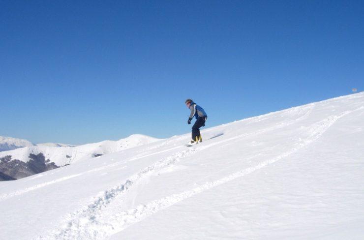 Κάνοντας σκι στο Χιονοδρομικό Κέντρο Φαλακρού