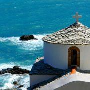 Το γραφικό εκκλησάκι του Άι Νικόλα στη Χώρα