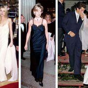 Η Γκουίνεθ Πάλτροου φανατική οπαδός του slip dress με μακριά εκδοχή του τη δεκαετία του '90 // Η Πριγκίπισσα Νταϊάνα με μια μαύρη δημιουργία του οίκου Dior στην εκδήλωση του Met Gala απογείωσε την τάση // Η Καρολίν Μπέσετ στον γάμο της με τον Κένεντι φόρεσε νυφικό slip dress του Νarcisso Rodriguez