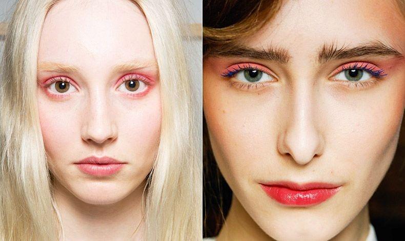 Οι ροζ αποχρώσεις έκαναν την εμφάνισή τους και στις πασαρέλες του Λονδίνου