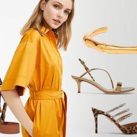 Ο απόλυτος συνδυασμός για τη φετινή σεζόν είναι το snake print με πορτοκαλί! Το θερμό αυτό χρώμα δημιουργεί μία τέλεια αρμονική εμφάνιση που ολοκληρώνεται με χρυσά κοσμήματα. Τσάντα, Chloé // Πορτοκαλί φόρεμα, Max Mara // Χρυσό βραχιόλι, Sophie Buhai // Χρυσαφί πέδιλο με snake print, Gianvitto Rossi // Παπούτσι στολισμένο με στρας, Aquazzura // Μακρύ φόρεμα σε σκούρο πορτοκαλί, Mara Hoffman