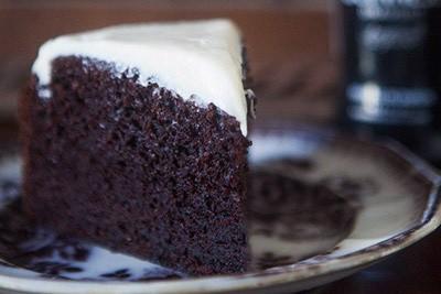 Σοκολατένιο κέικ με μαύρη μπίρα!