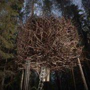 Το «Bird?s Nest», μια πραγματική «φωλιά» από κλαδιά που ενσωματώνεται πλήρως μέσα στα δέντρα