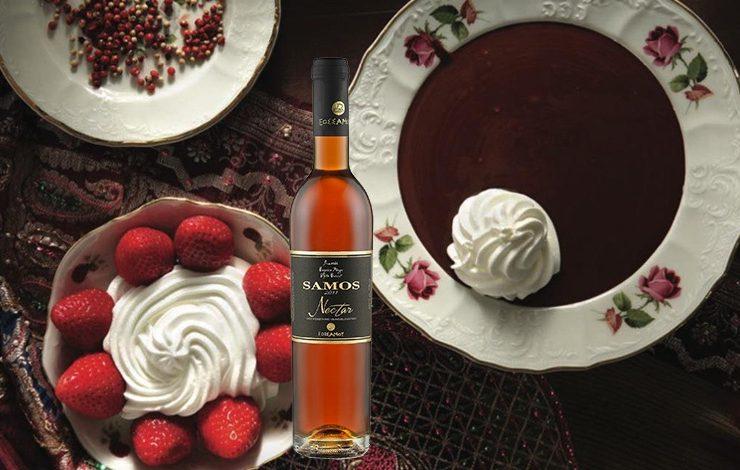 Σούπα σοκολάτας και γλυκό κρασί: Μοναδικό ερωτικό ζευγάρι!