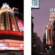 Το θέατρο Grand Rex, όπου έγινε η παρουσίαση του Stephen King