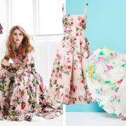 Τα ρομαντικά λουλούδια θυμίζουν ολάνθιστους κήπους! // Φούξια κοντό φόρεμα, Gucci // Φόρεμα με τιράντες και τριαντάφυλλα, Dolce&Gabbana