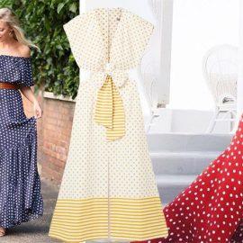 Μπλε ή κόκκινο με λευκά πουά; Φορέστε τα από το πρωί έως το βράδυ! Κίτρινο και λευκό, Silvia Τcherassi