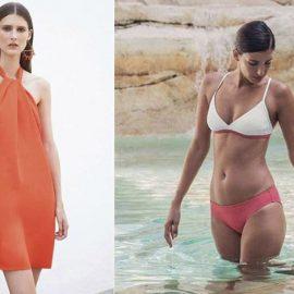 Το φόρεμα παραλίας συνδυασμένο κατάλληλα μπορεί να μεταμορφωθεί σε all day κομμάτι // Το μυστικό για διαφορετικά μπικίνι σε ένα look είναι να επιλέξετε χρώματα που ταιριάζουν μεταξύ τους και συμπληρωματικά prints