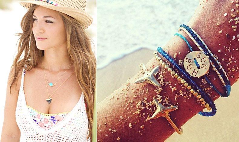 Υπάρχει μια πληθώρα κοσμημάτων ειδικά για την παραλία που συνδυάζονται τέλεια με το μαγιό σας