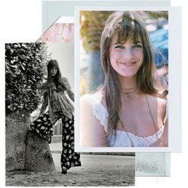 Η Τζέιν Μπίρκιν σε φωτογράφιση για τη Vogue το 1969 (Patrick Lichfield/Condé Nast via Getty Images) // Με χαρακτηριστικό look, το 1977 (SIPA PRESS/REX/Shutterstock)