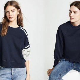 Οι εκδοχές του sweatshirt είναι πολλές… για να μην γίνεται βαρετό!