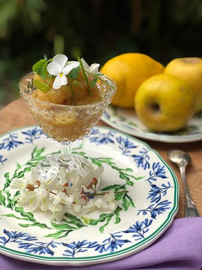 Καραμελωμένα μήλα. Συνταγή Dior