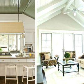 Τα δοκάρια και μάλιστα με χρώμα χαρίζουν από την κουζίνα μέχρι το σαλόνι σας ιδιαίτερο χαρακτήρα