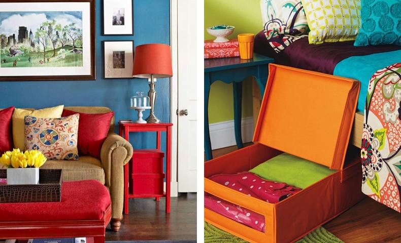 Αν το σπίτι είναι μικρό, σκεφθείτε απλώς πρακτικά! Εκμεταλλευθείτε και τον παραμικρό χώρο!