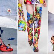 Εντυπωσιακές τάσεις στα ανοιξιάτικα παπούτσια