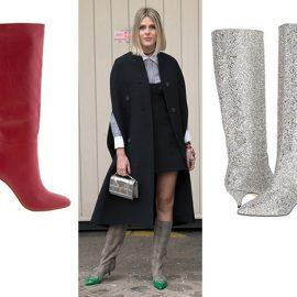 Μπότες με έμπνευση από τη δεκαετία του '80 και ανανεωμένη εμφάνιση // Ψηλοτάκουνες λευκές μπότες με μήνυμα «For Walking» // Κόκκινη, Tony Bianco // Με γκλίτερ, Kate Spade // Κεντημένες και με διακοσμητικό φιόγκο, Gucci