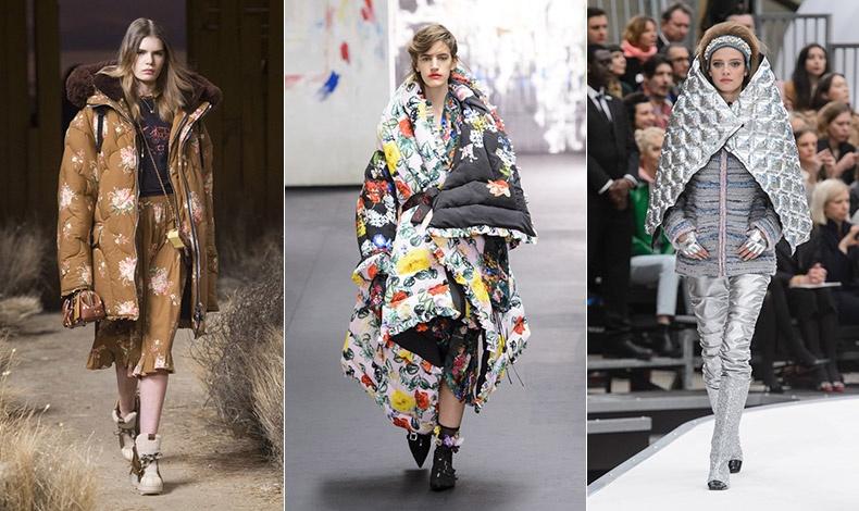 Πρωτοποριακά υλικά και σιλουέτες στα μπουφάν! Coach // Preen By Thornton Bregazzi // Chanel