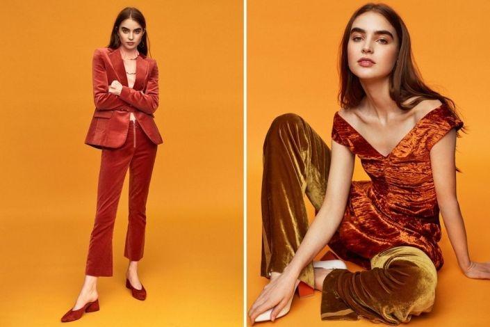 Ένα καλοραμμένο κοστούμι, μία μπλούζα ή ένα φόρεμα σε ίσια γραμμή από βελούδο αποπνέουν κομψότητα και στη δουλειά