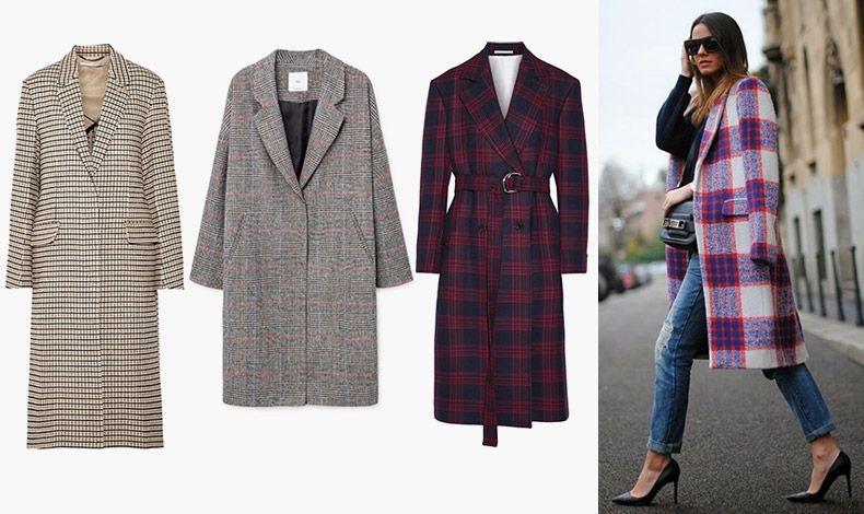 Ένα καλοραμμένο καρό παλτό αποτελεί τον ιδανικό