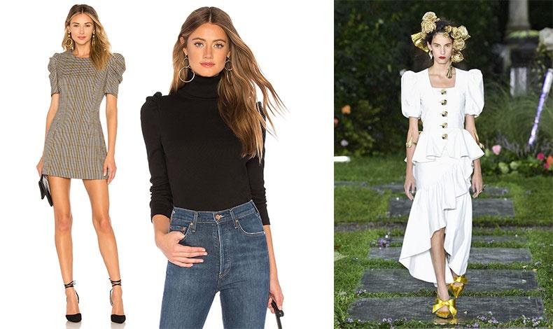 Επιλέξτε ένα φόρεμα ή μία μπλούζα με διακριτικά φουσκωτά μανίκια για την καθημερινότητά σας // Από τη συλλογή Rodarte άνοιξη 2019