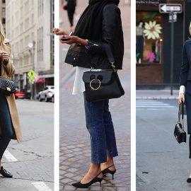 Μία μαύρη τσάντα καλής ποιότητας και στο κατάλληλο μέγεθος απλώς μας πάει… παντού!