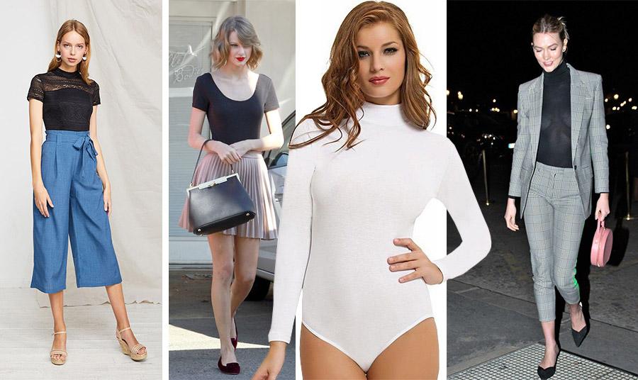 Το ολόσωμο κορμάκι γίνεται πάλι της μόδας! Φοριέται με μακριά ή κοντά μανίκια με τα παντελόνια ή τις φούστες μας