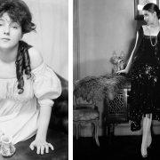 Το πρώτο super model στον κόσμο θεωρείται η Evelyn Nesbit και όλες οι γυναίκες των αρχών του 20ού αιώνα ήθελαν να της μοιάσουν // Το flapper girl γίνεται το it girl της εποχής του 1920. Τα ρούχα γλιστρούν στο κορμί, η μέση κατεβαίνει στους γοφούς και τα εσώρουχα δεν ενισχύουν πια το στήθος