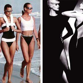 Πρότυπο του γυναικείου σώματος τη δεκαετία του '80 το καλογυμνασμένο σώμα // Η έκρηξη των σούπερ model (όπως η Linda, η Christy και η Helena) δίνουν το πρόσταγμα για αδύνατα σώματα και σέξι στιλ