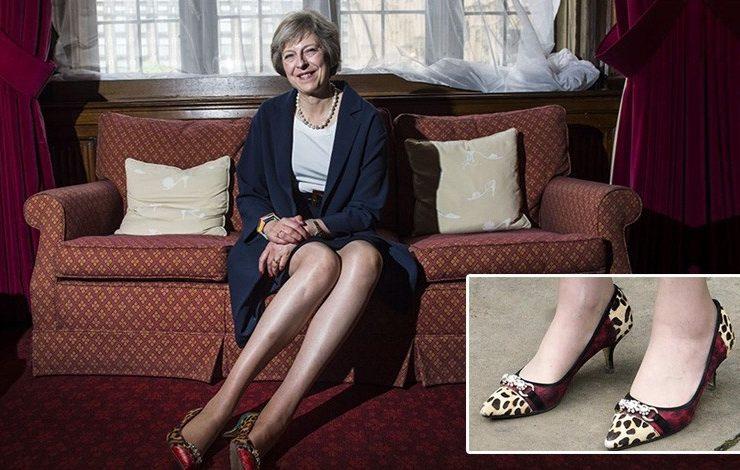 Τερέζα Μέι: Με τις κομψές γόβες της κατέκτησε την Downing Street!