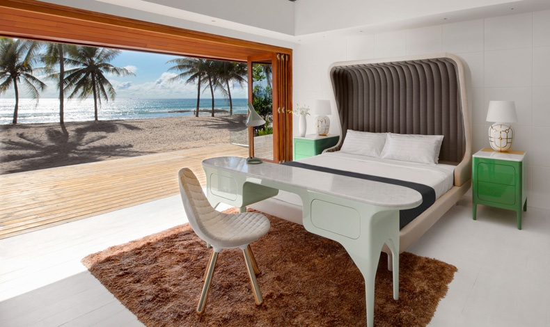 Ο ισπανός designer Jaime Hayon υπογράφει το υπέρκομψο εσωτερικό ενός υπνοδωματίου στην Collectors Villa