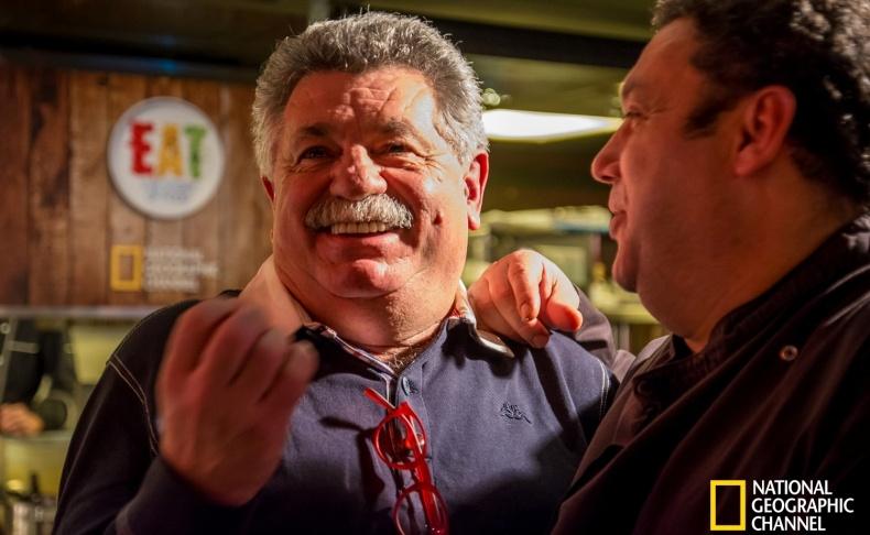 Δύο σπουδαίοι Έλληνες chef, Λευτέρης Λαζάρου και Χριστόφορος Πέσκιας
