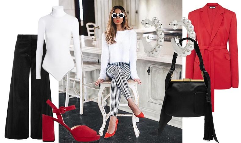 Λευκό, μαύρο και κόκκινο είναι ένας συνδυασμός κλασικά αγαπημένος! Αν είστε προσκεκλημένη σε ένα πιο επίσημο αναστάσιμο ή πασχαλιάτικο τραπέζι μην διστάσετε να το προτιμήσετε