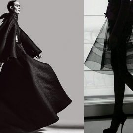 """""""Ερωτεύτηκα το μαύρο γιατί περιέχει μέσα του όλα τα χρώματα"""", είπε η γλύπτρια Louise Nevelson // ?Οι γυναίκες που φορούν μαύρο ζουν πολύχρωμες ζωές?, σύμφωνα με τον Neiman Marcus (ιδρυτή του γνωστού αμερικάνικου πολυκαταστήματος)"""