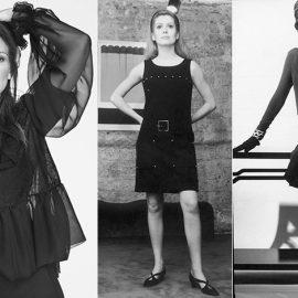 Η Τζούλια Ρόμπερτς σε μαύρη δημιουργία Givenchy // Η Κατρίν Ντενέβ με μικρό μαύρο φόρεμα Υves Saint Laurent // Όλα σε μαύρο, Chanel