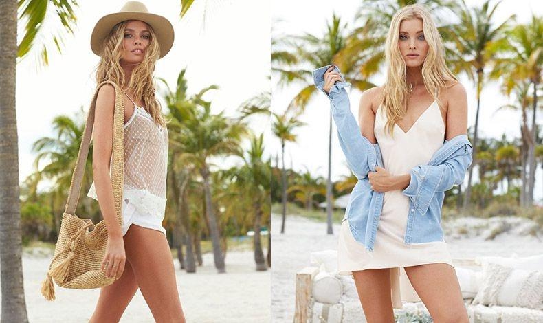 Ένα αέρινο, σέξι μπλουζάκι με τιράντες και ένα λινό ή βαμβακερό ανάλαφρο σορτς είναι τέλειο για την παραλία // Ένα αέρινο λευκό κομπινεζόν φοριέται όλη μέρα μαζί με ένα τζιν πουκάμισο