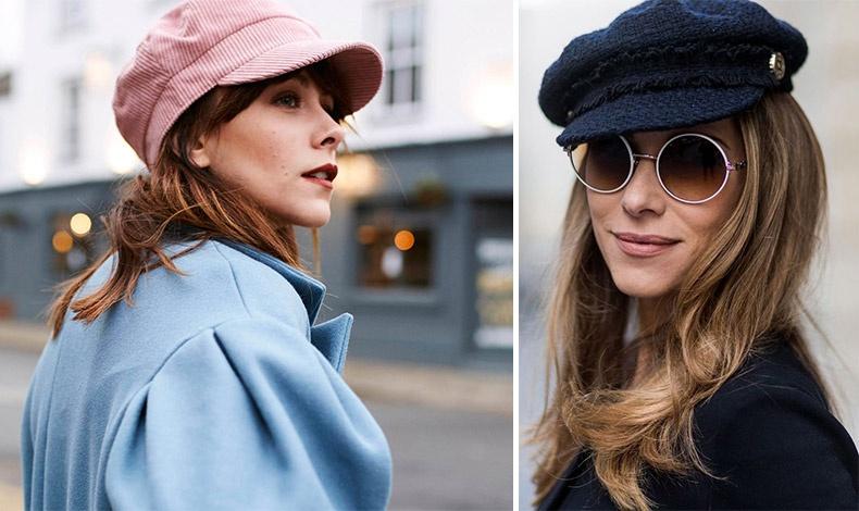 Ροζ κοτλέ τραγιάσκα για πιο θηλυκή εκδοχή // Μάλλινη τραγιάσκα σε μπλε και ροκ στρογγυλά γυαλιά