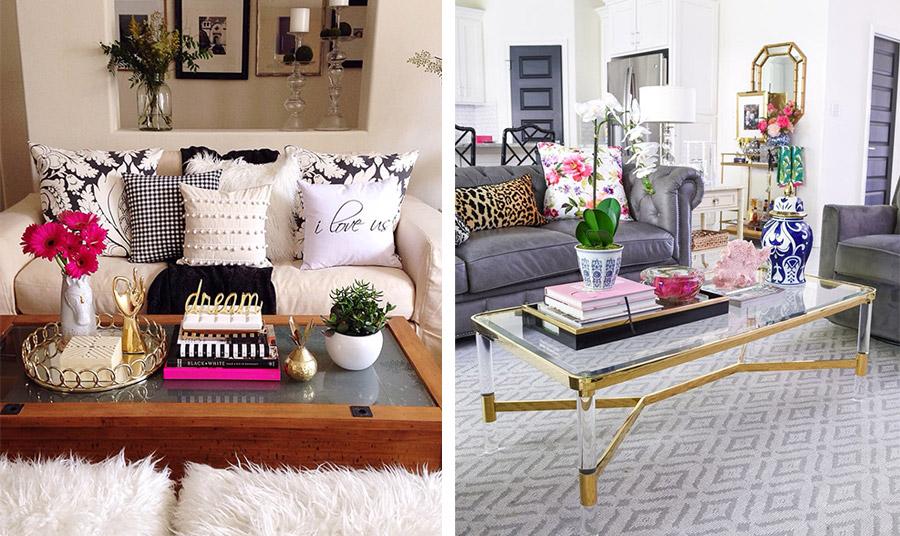 Τρία-τέσσερα όμορφα coffee table βιβλία είναι… απαραίτητα! Αρκεί να εκπέμπουν την προσωπικότητα και τα ενδιαφέροντά σας αλλά και να είναι σωστά τοποθετημένα