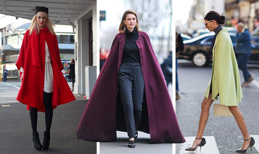 To χρώμα είναι πολύ της μόδας, όπως ένα φλογερό κόκκινο // Η πιο σημαντική χρωματική νότα για τους σχεδιαστές φέτος είναι το μοβ // Μία κοντή κάπα σε λεμονί με ένα μίνι φόρεμα και τα ψηλοτάκουνά σας είναι μία ωραία εκδοχή