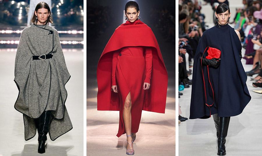 Με πολλά και διαφορετικά στιλ οι κάπες του φετινού χειμώνα: Isabel Marant // Givenchy // Valentino