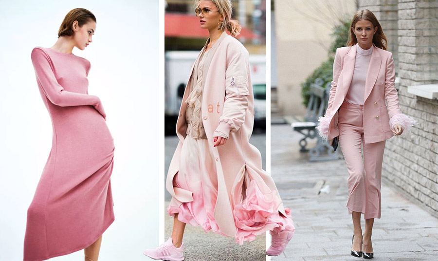 Στις αποχρώσεις του ροζ! Όπως το φόρεμα Zara, σε ένα χαλαρό στιλ ή κοστούμι! Τίποτα δεν θυμίζει πλέον ροζ «τσιχλόφουσκες! Αντίθετα το ροζ γίνεται ενδιαφέρον και δυναμικό