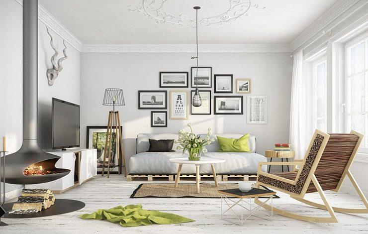 Λευκό με πινελιές ζωηρού χρώματος, λιτό και μίνιμαλ στιλ με σκανδιναβικά στοιχεία είναι μερικά από τα χαρακτηριστικά των φετινών τάσεων στη διακόσμηση