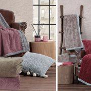 Η απαλότητα και η ζεστασιά που θα μας τυλίξει με τις κουβέρτες καναπέ σε διάφορα σχέδια και χρώματα από γούνα σέρπα και πλεκτά?