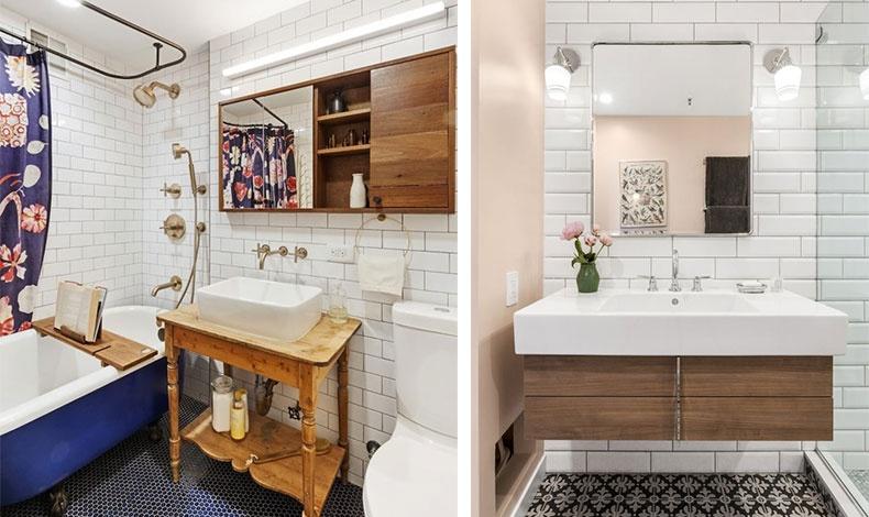 Σε περίπτωση που έχουμε προγραμματίσει μια μίνι ανακαίνιση στο μπάνιο, αρκεί να επενδύσουμε μόνο στην αλλαγή του νιπτήρα επιλέγοντας ένα νέο υλικό (π.χ. γρανίτη) ή ένα εντυπωσιακό μέγεθος που θα κυριαρχήσει στον χώρο