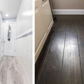 Τα πλακάκια σε απομίμηση ξύλου γίνονται η νέα τάση! Φυσικά ακόμη και στο μπάνιο!